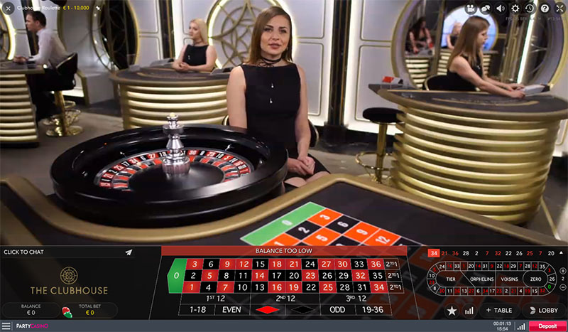 Clubhouse Roulette