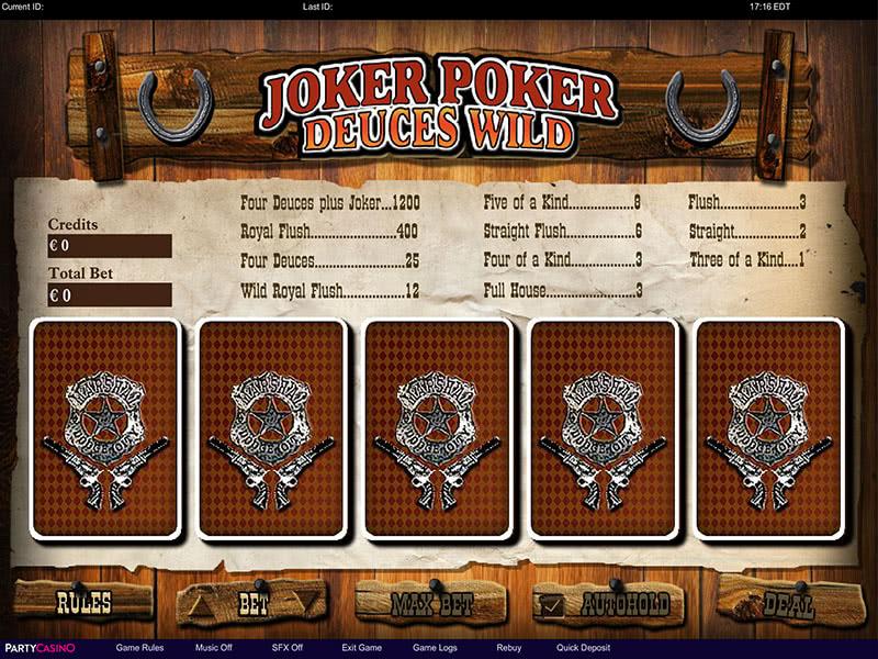 Joker Poker Deuces Wild