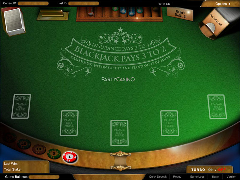 Multi-Hand Blackjack Pro