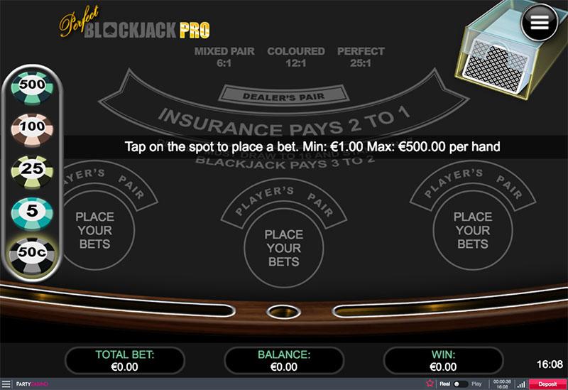 Perfect Blackjack Pro