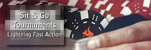 Ignition Casino Poker Sit & Go Tournaments